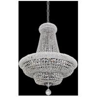 Allegri 020970-010-FR001 Napoli 9 Light 18 inch Chrome Pendant Ceiling Light