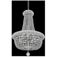 Allegri 020971-010-FR001 Napoli 15 Light 25 inch Chrome Pendant Ceiling Light