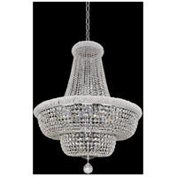 Allegri 020972-010-FR001 Napoli 21 Light 34 inch Chrome Pendant Ceiling Light