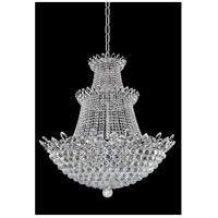 Treviso 27 Light 35 inch Chrome Pendant Ceiling Light