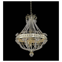 Orleans 3 Light 18 inch Champagne Silver Leaf Chandelier Ceiling Light
