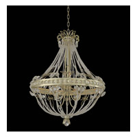 Orleans 8 Light 32 inch Champagne Silver Leaf Chandelier Ceiling Light