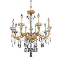 Allegri Jolivet 8 Light Chandelier in Historic Brass 021771-032-FR001