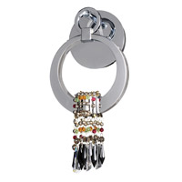 Bartolome LED 8 inch Chrome Wall Bracket Wall Light in Swarovski Elements Mixed