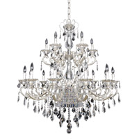 Rafael 21 Light 42 inch Two-Tone Silver Chandelier Ceiling Light in Firenze Clear