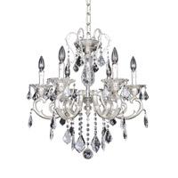 Allegri Rafael 6 Light Chandelier in Two-Tone Silver 022152-017-FR001
