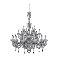 La Valle 25 Light 51 inch Chrome Chandelier Ceiling Light
