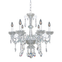 La Valle 6 Light 26 inch Chrome Chandelier Ceiling Light