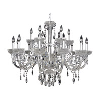 Allegri La Valle 18 Light Chandelier in Chrome 022252-010-FR001