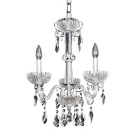 Allegri La Valle 3 Light Chandelier in Chrome 022253-010-FR001
