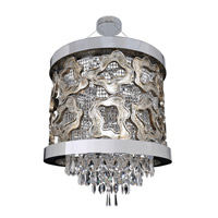 Allegri Caravaggio 6 Light Pendant in Chrome 022350-010-FR001
