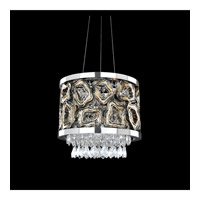 Allegri Carravagio 2 Light Pendant in Chrome 022355-010-FR001