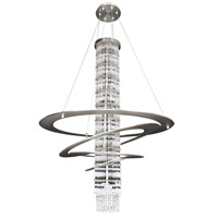 Giovanni 7 Light 32 inch Brushed Nickel Pendant Ceiling Light in Firenze Clear