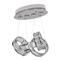 Allegri 022950-010-FR001 Anastagio 4 Light 10 inch Chrome Pendant Ceiling Light
