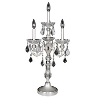 Allegri Praetorius 4 Light Table Lamp in Two-Tone Silver 023190-017-FR001