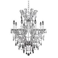 Allegri Brahms 8 Light Chandelier in Chrome 023454-010-FR001