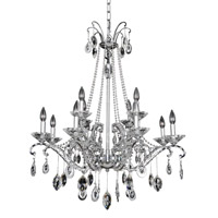 Allegri 023551-010-FR001 Torreli 12 Light 32 inch Chrome Chandelier Ceiling Light in Firenze Clear