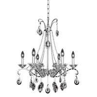 Allegri Torelli 6 Light Chandelier in Chrome 023554-010-FR001