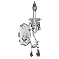 Allegri 023621-014-FR001 Haydn 1 Light 5 inch Silver Wall Bracket Wall Light in Firenze Clear photo thumbnail