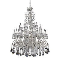 Allegri 023650-014-FR001 Haydn 41 Light 59 inch Silver Chandelier Ceiling Light in Firenze Clear photo thumbnail