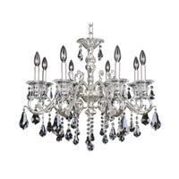 Haydn 8 Light 28 inch Silver Chandelier Ceiling Light in Firenze Clear