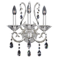 Cesti 3 Light 13 inch Silver Wall Sconce Wall Light