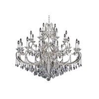 Cesti 28 Light 48 inch Silver Chandelier Ceiling Light