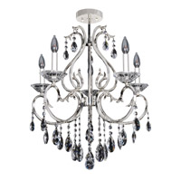 Allegri Cesti 5 Light Semi-Flush Mount in Silver 023751-014-FR001