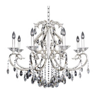 Cesti 8 Light 32 inch Silver Chandelier Ceiling Light