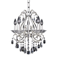 Allegri Cesti 5 Light Chandelier in Silver 023753-014-FR001