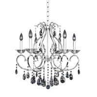 Allegri Cesti 6 Light Chandelier in Silver 023754-014-FR001