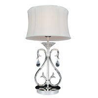 Allegri Cesti 1 Light Table Lamp in Silver 023790-014-FR001
