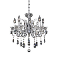 Allegri Catalani 5 Light Chandelier in Chrome 023853-010-FR001
