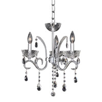 Allegri 023855-010-FR001 Catalani 3 Light 16 inch Chrome Chandelier Ceiling Light