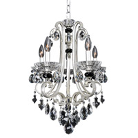 Allegri 023950-017-FR001 Bedetti 5 Light 18 inch Two Tone Silver Chandelier Ceiling Light