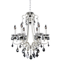 Allegri 023951-017-FR001 Bedetti 6 Light 24 inch Two-Tone Silver Chandelier Ceiling Light