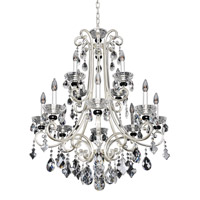 Allegri 023952-017-FR001 Bedetti 12 Light 32 inch Two-Tone Silver Chandelier Ceiling Light