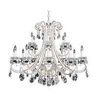Bedetti 18 Light 42 inch Two-Tone Silver Chandelier Ceiling Light