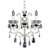 Allegri 023954-017-FR001 Bedetti 3 Light 17 inch Two-Tone Silver Chandelier Ceiling Light