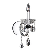 Allegri 024220-010-FR001 Steffani 1 Light 12 inch Chrome Wall Sconce Wall Light in Firenze Clear