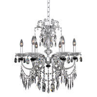 Allegri Steffani 6 Light Chandelier in Chrome 024250-010-FR001