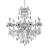 Allegri Steffani 10 Light Chandelier in Chrome 024252-010-FR001