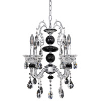 Allegri 024352-010-FR001 Faure 6 Light 18 inch Chrome Chandelier Ceiling Light in Firenze Clear photo thumbnail