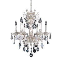 Allegri Marcello 6 Light Chandelier in Antique Silver 024550-005-FR001
