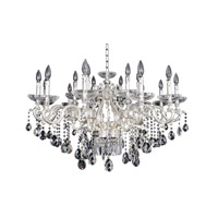 Allegri Rossi 20 Light Chandelier in Two-Tone Silver 024653-017-FR001