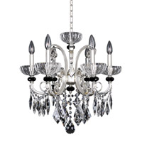 Allegri Gabrieli 6 Light Chandelier in Two-Tone Silver 024851-017-FR001