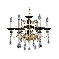 Allegri Cimarosa 6 Light Chandelier in 24K Two-Tone Gold 024951-016-FR001
