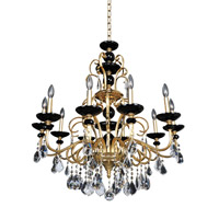 Allegri Cimarosa 10 Light Chandelier in 24K Two-Tone Gold 024953-016-FR001