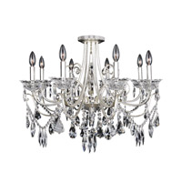 Brunetti 8 Light 30 inch Two-Tone Silver Flush Mount Ceiling Light