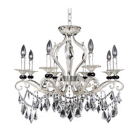 Allegri 025140-017-FR001 Donizetti 8 Light 30 inch Two-Tone Silver Convertible Pendant or Flush Mount Ceiling Light